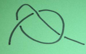 Knoten 1: einfacher Knoten