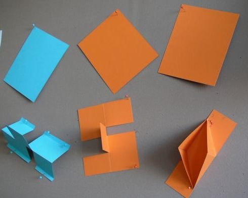 m gliches und unm gliches durch schneiden und falten geometrieunterricht. Black Bedroom Furniture Sets. Home Design Ideas